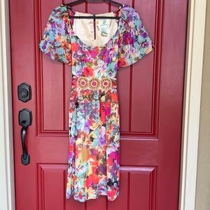 Darling Floral Dress
